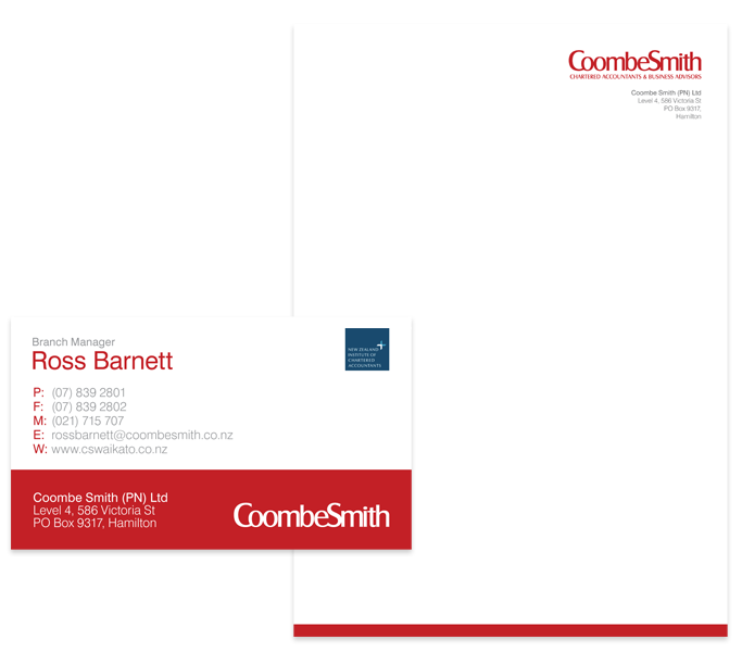 CoombeSmith business card