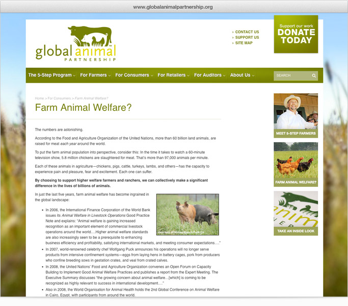 Global Animal Partnership internal