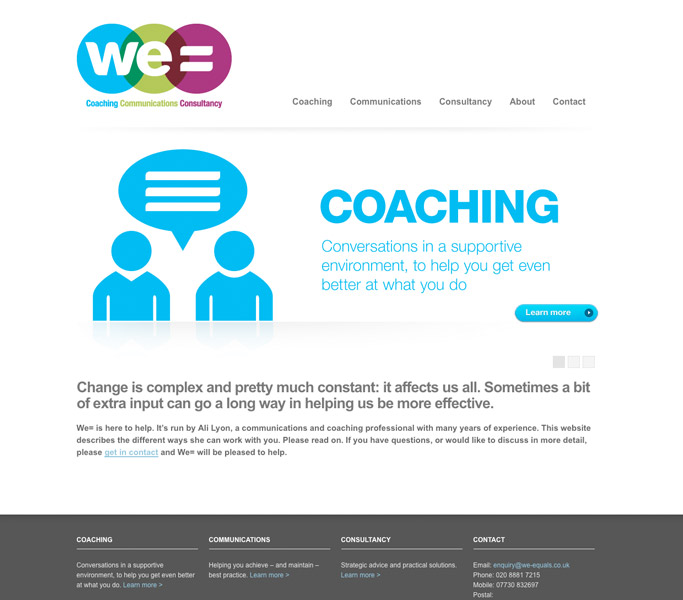 We= website